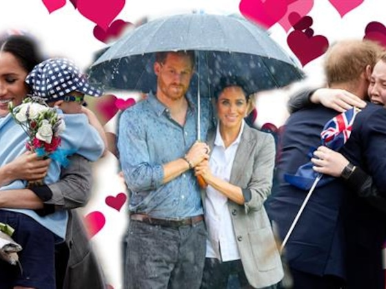 Meghan Markle and Prince Harry: The Most Huggable Royals Ever