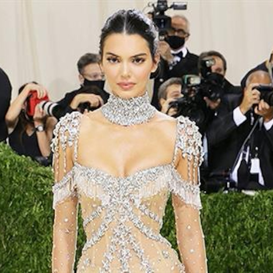 Kendall Jenner, Zoe Kravitz & More Rock Nude Gowns