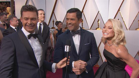 Mark Consuelos is a protective father in his son's wrestling match
