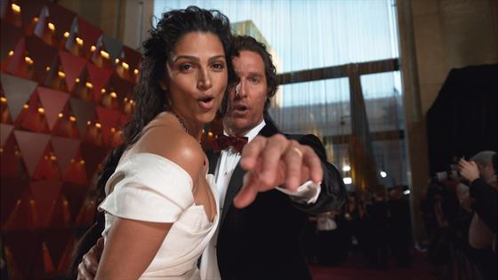 camila alves and matthew mcconaughey oscars