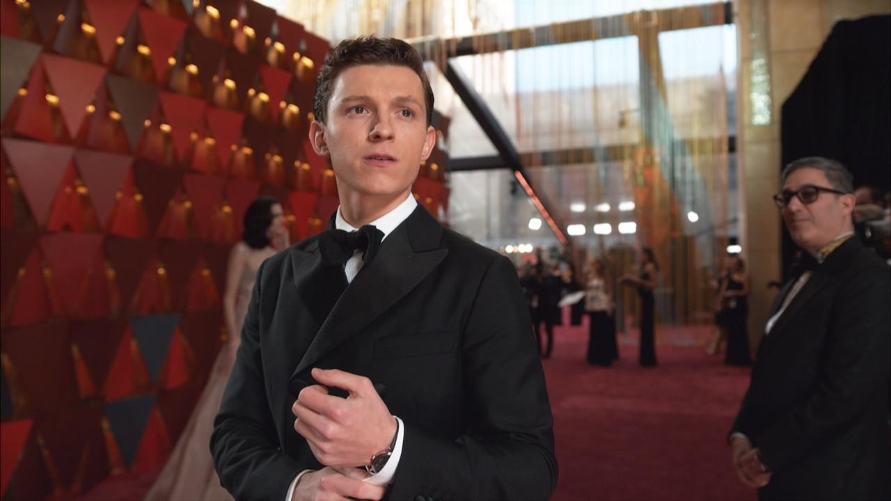 Tom Holland 2018 Oscars E Glambot E News Canada