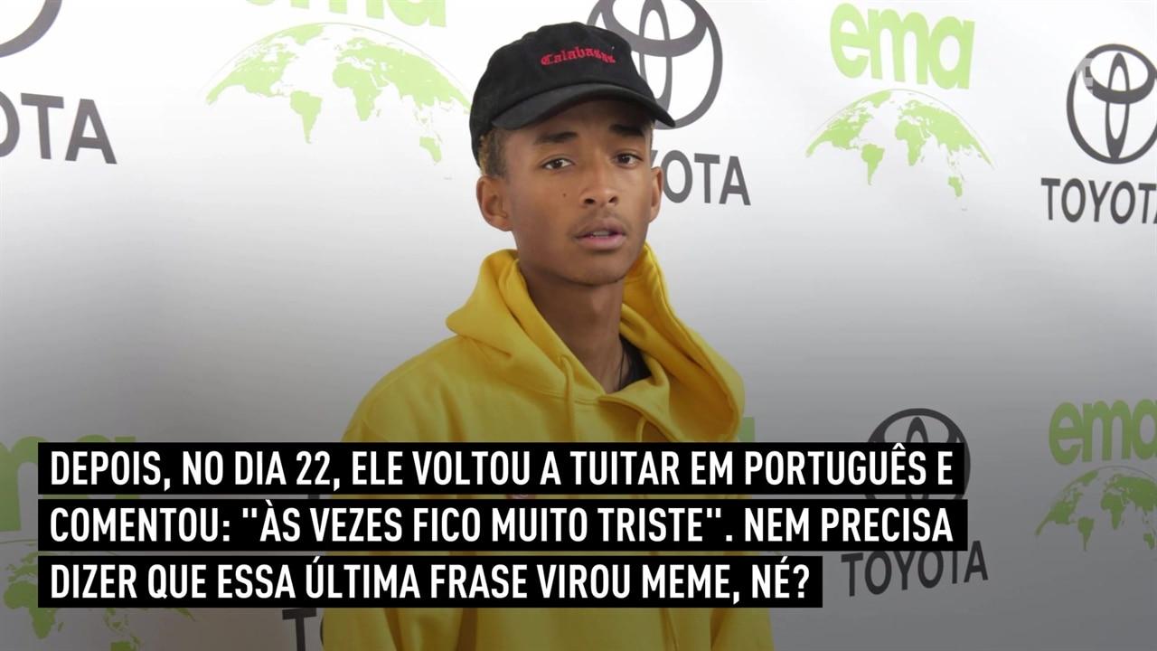 Jaden Smith Publica Tweets Em Português Na Web E News