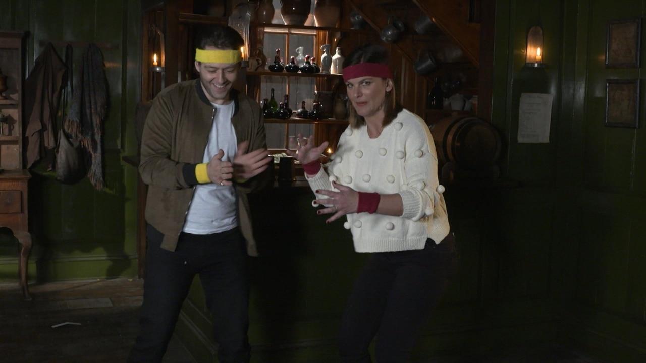 Adorable Alert! Sam Heughan and Caitriona Balfe Meet Outlander