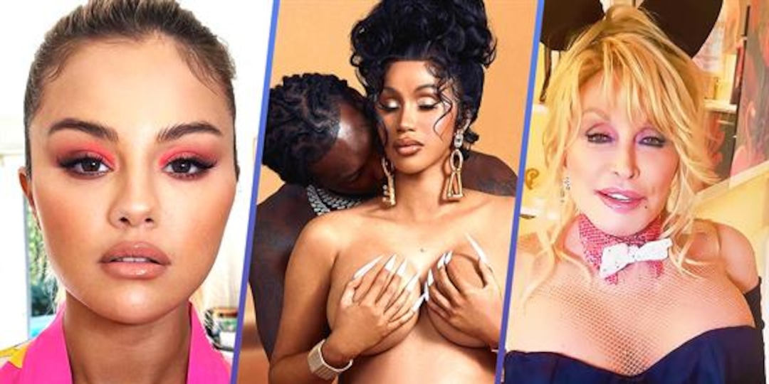 Selena's Red Flags, Cardi's Push Present & Dolly Gets Naughty - E! Online.jpg