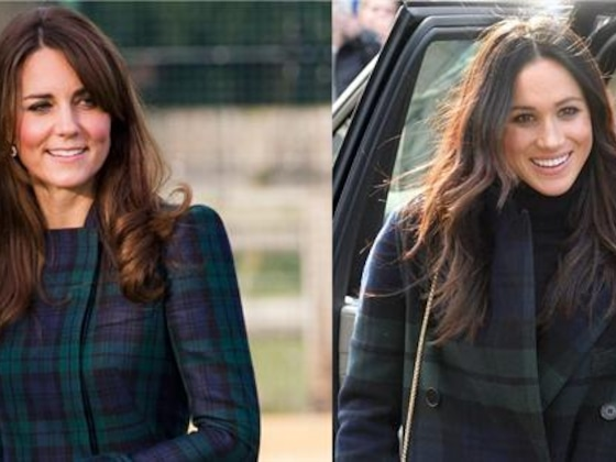 4 Times Meghan Markle & Kate Middleton Were Totally Twinning