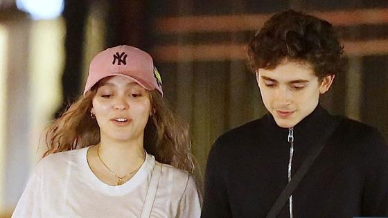 Timothee Chalamet & Lily-Rose Depp Confirm Romance Rumors