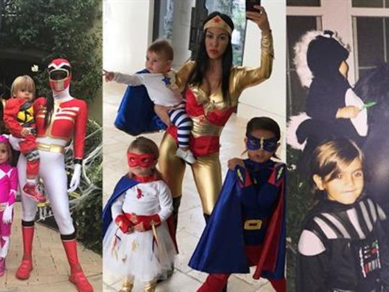 Inside Kourtney Kardashian's Family Halloween Costumes