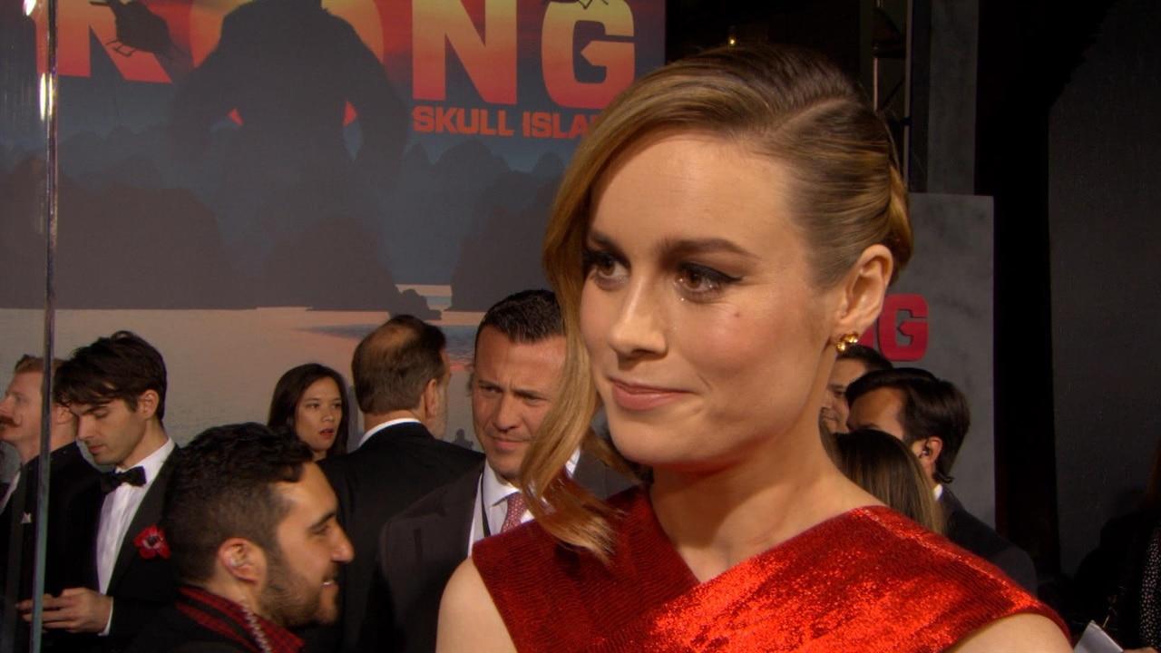 Brie Larson Talks Love Scenes With Tom Hiddleston | E! News