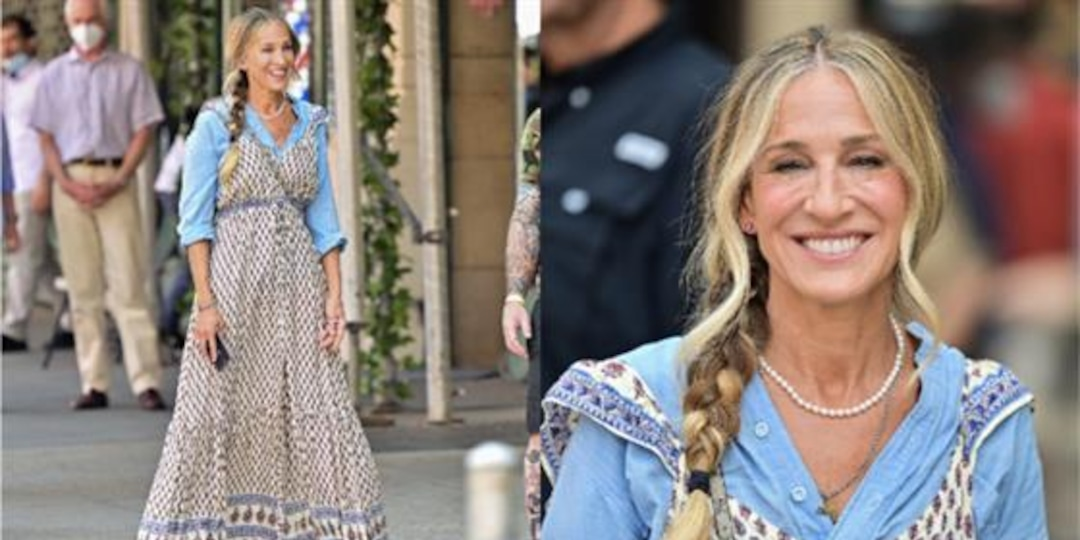 Carrie Bradshaw Wears Forever 21 & Fans Have Thoughts! - E! Online.jpg