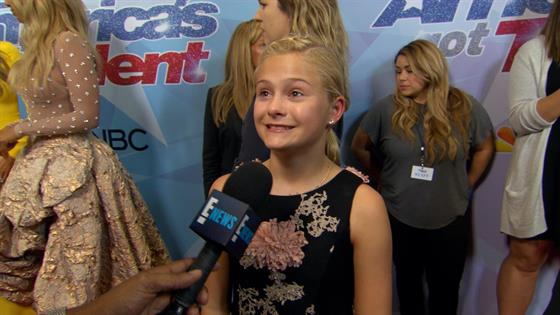 Darci Lynne Farmer Spills on