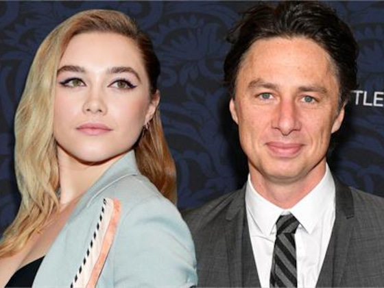 Florence Pugh Defends BF Zach Braff From Age Difference ''Abuse''