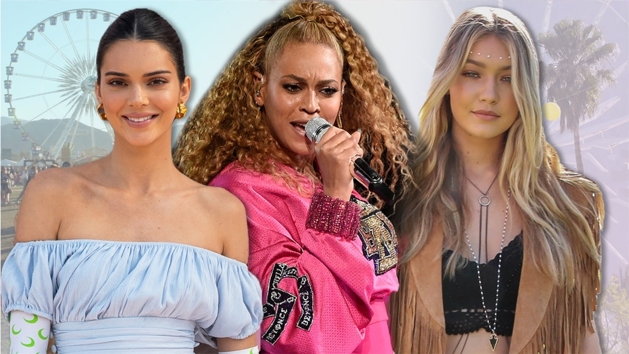 Best Celebrity Coachella Styles Over the Years
