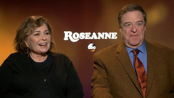 Roseanne Barr & John Goodman Overjoyed on