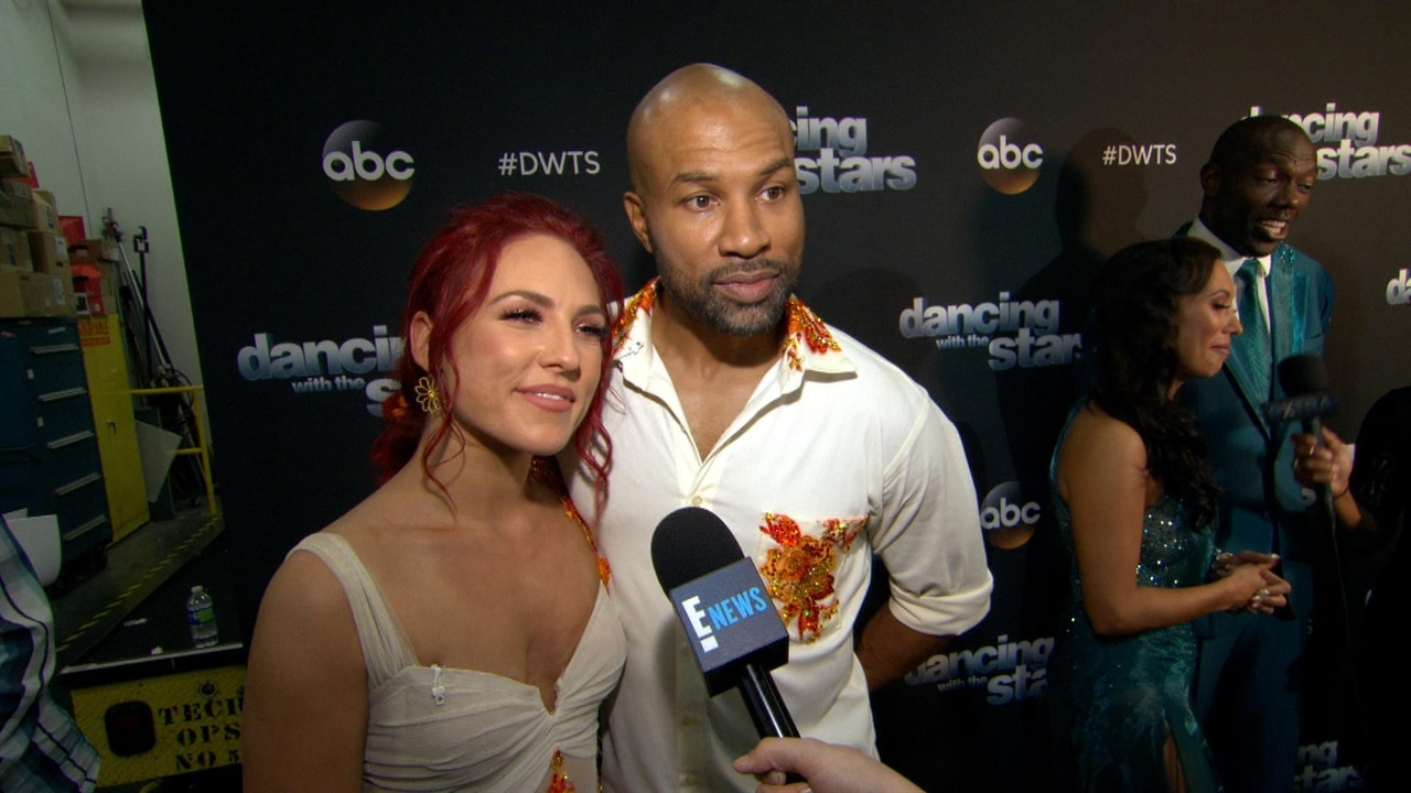 Derek Fisher & Sharna Burgess Exit Dancing With the Stars | E! News Australia