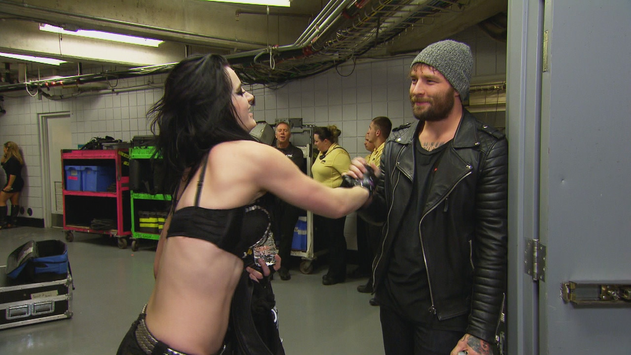 WWE Diva Paige Gives Her Boyfriend the Cold Shoulder—See the Tense Total Divas Deleted Scene!