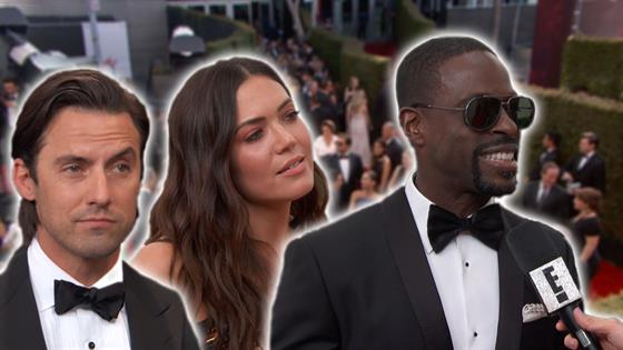 Emmys Red Carpet: This Is Us Cast Over the Years