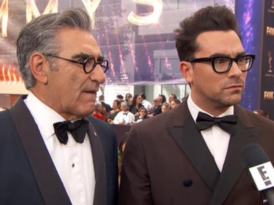 Dan & Eugene Levy's Theory on Finally Getting Emmys Love