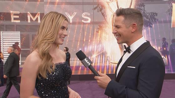 Betty Gilipin's Parents Encouraged Her Not To Act--Here She Is at Emmys