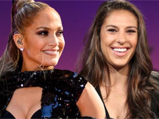 J.Lo Gives Carli Lloyd Sexy Lap Dance to Celebrate World Cup Win