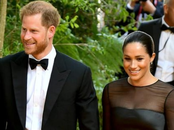 Meghan Markle & Prince Harry Greet Beyonce at U.K.