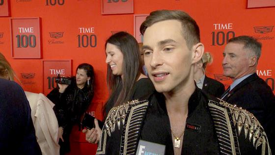 "Why Adam Rippon Might ""Drop Dead"" at the TIME 100 Gala"