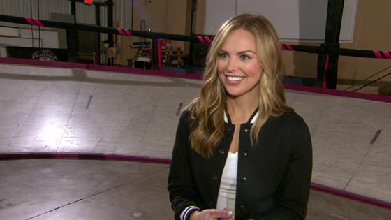 """""""Bachelorette"""" Hannah Conquers Fear of Roller Skating"""