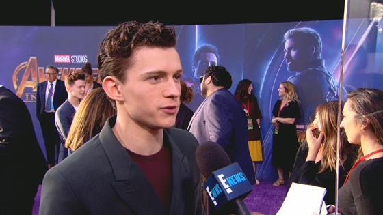 Tom Holland Gushes Over Working With Marvel's Elite Actors