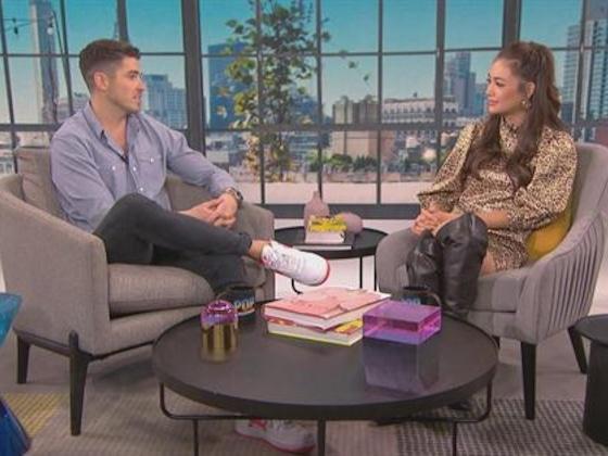 Francesca interviews E! Host Scott Tweedie