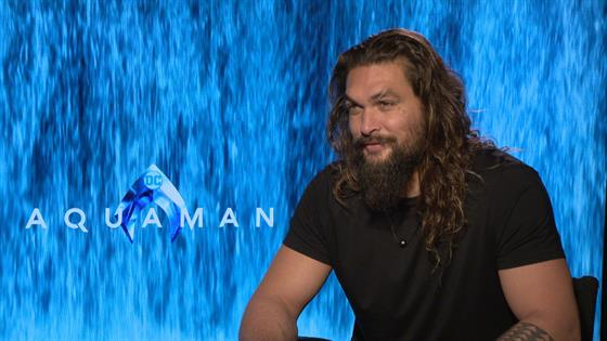 Jason Momoa Talking About Aquaman