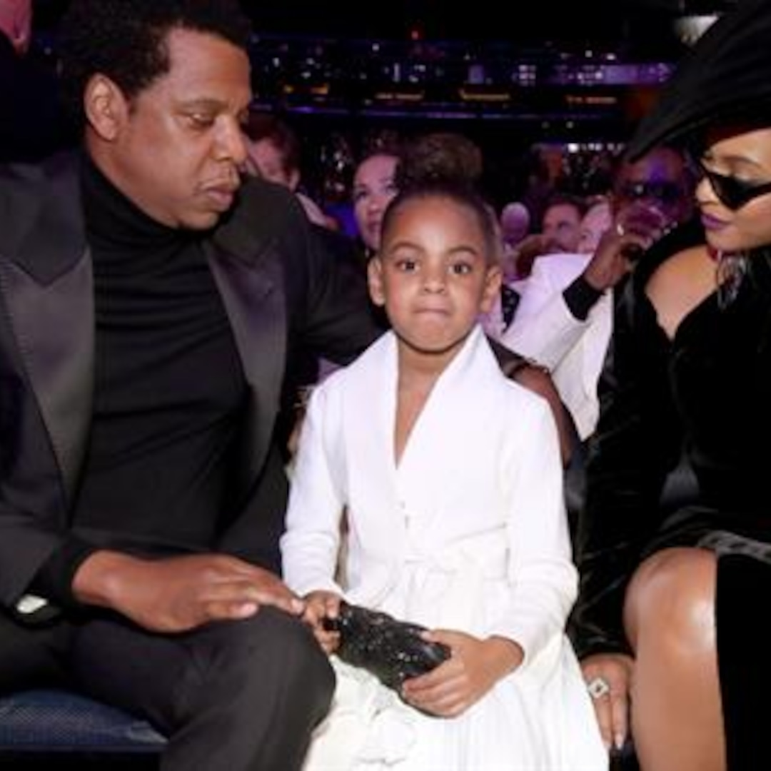 Beyonce Posts Must-See Photo of Blue Ivy With Grammy