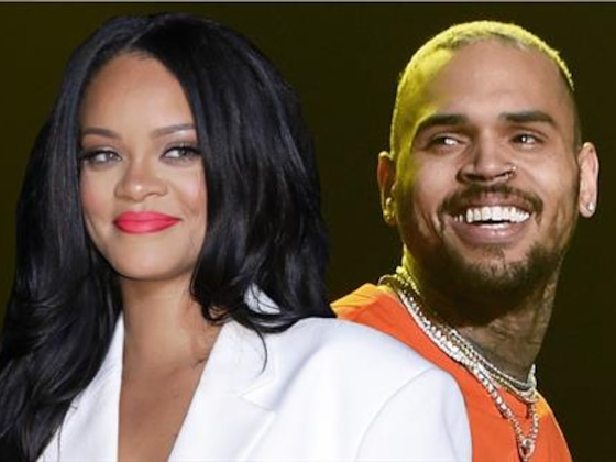 Chris Brown Thirsts Over Ex-GF Rihanna's Lingerie Pic