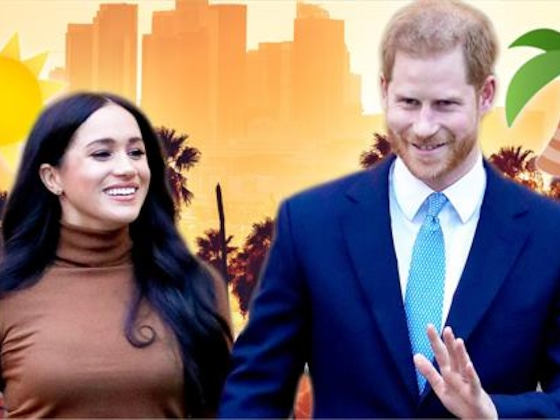Meghan Markle & Prince Harry Leave Canada for Los Angeles