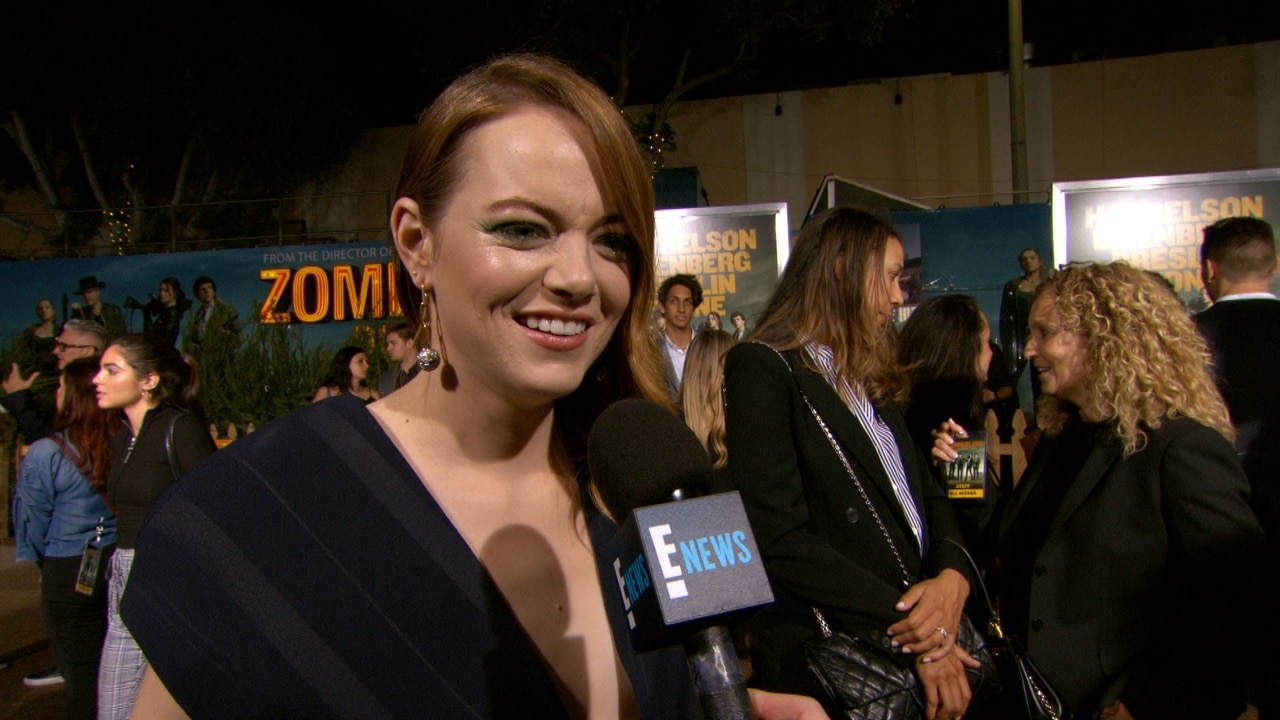 Emma Stone Reveals Which Celebrity She'd Eat in a Zombie Apocalypse