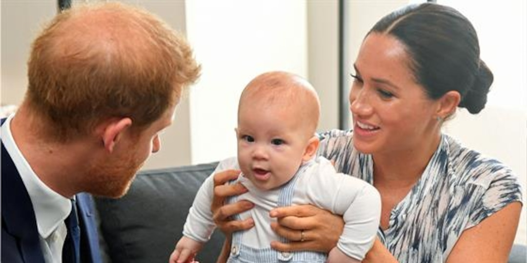 Royal Family Sends Meghan & Harry's Son Archie Love on His 2nd B-day - E! Online.jpg