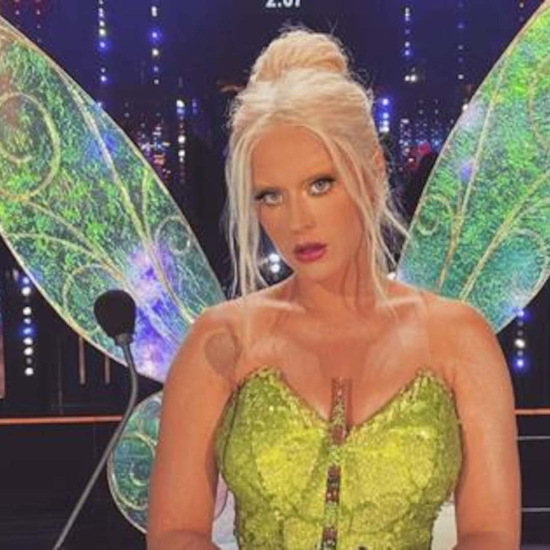 Katy Perry's Magical Transformation Into Tinkerbell