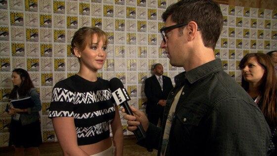Jennifer Lawrence Bei Der Comic Con