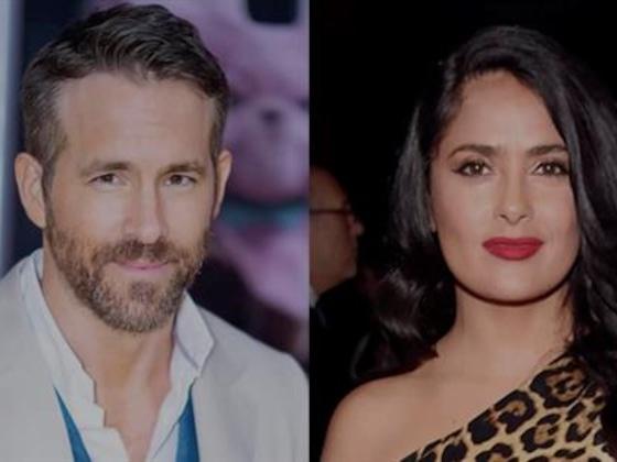 Salma Hayek se burla de Ryan Reynolds en su cumpleaños y tienes que verlo