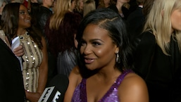 Christina Milian Flaunts Major Cleavage at People's Choice