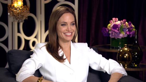 Angelina Jolie Spills On Daughter S First Scene