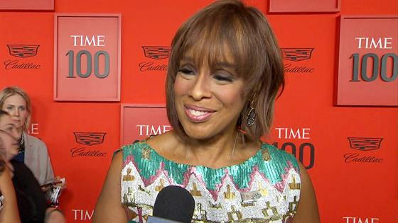 "Why Gayle King Loves Her ""TIME"" 100 Cover Photo"