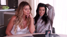 Kourtney Kardashian & Larsa Pippen Ask Fans for Talk Show Ideas