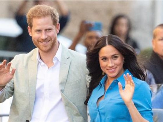 Meghan Markle & Prince Harry Kick Off Their Africa Tour