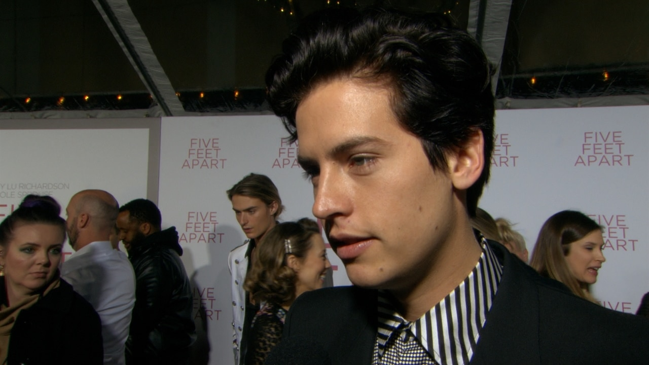 Five Feet Apart News: Cole Sprouse Talks Prepping For Five Feet Apart Flick