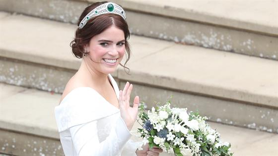 Royal Wedding: Princess Eugenie and Jack Brooksbank Official photographs REVEALED