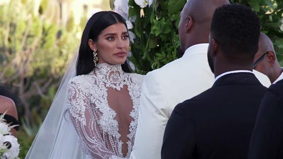 See Nicole Williams And Larry English Get Married On Wags La