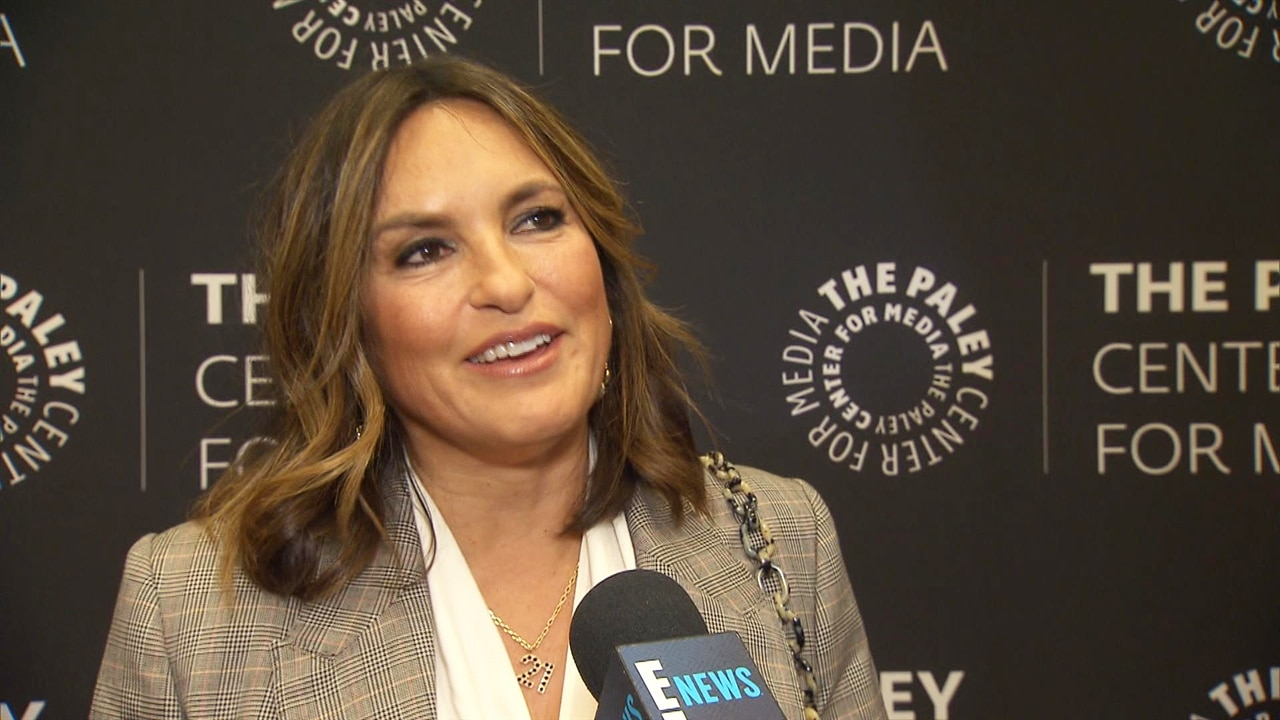 The Reason Mariska Hargitay Stopped to Watch a Law & Order: SVU Rerun Is Too Funny