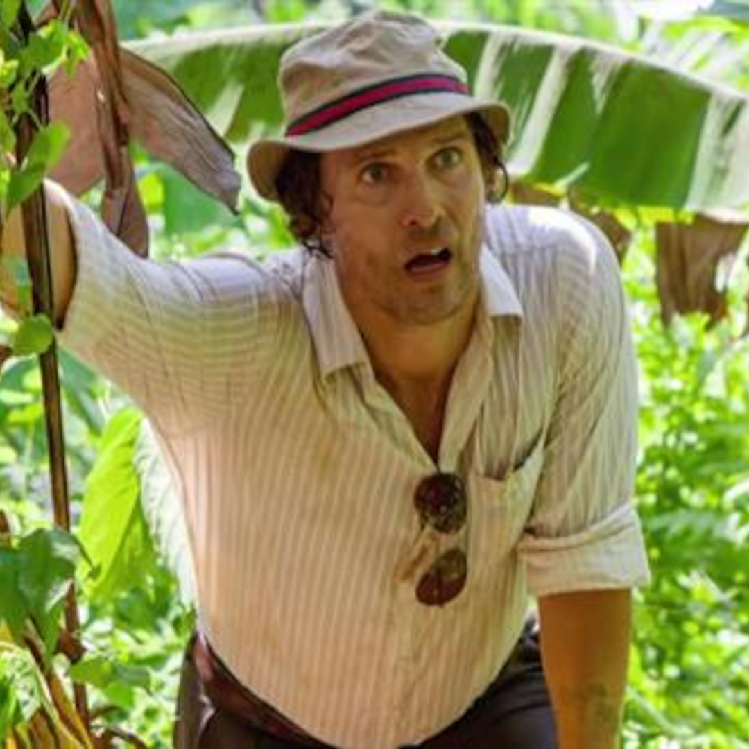 Matthew McConaughey Wrestled in a West African Sandpit