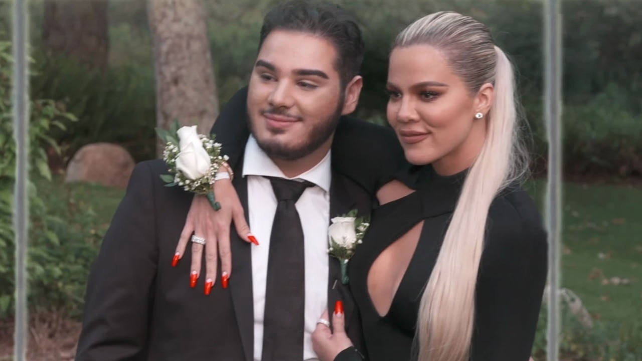 Khloe Kardashian Goes to Prom