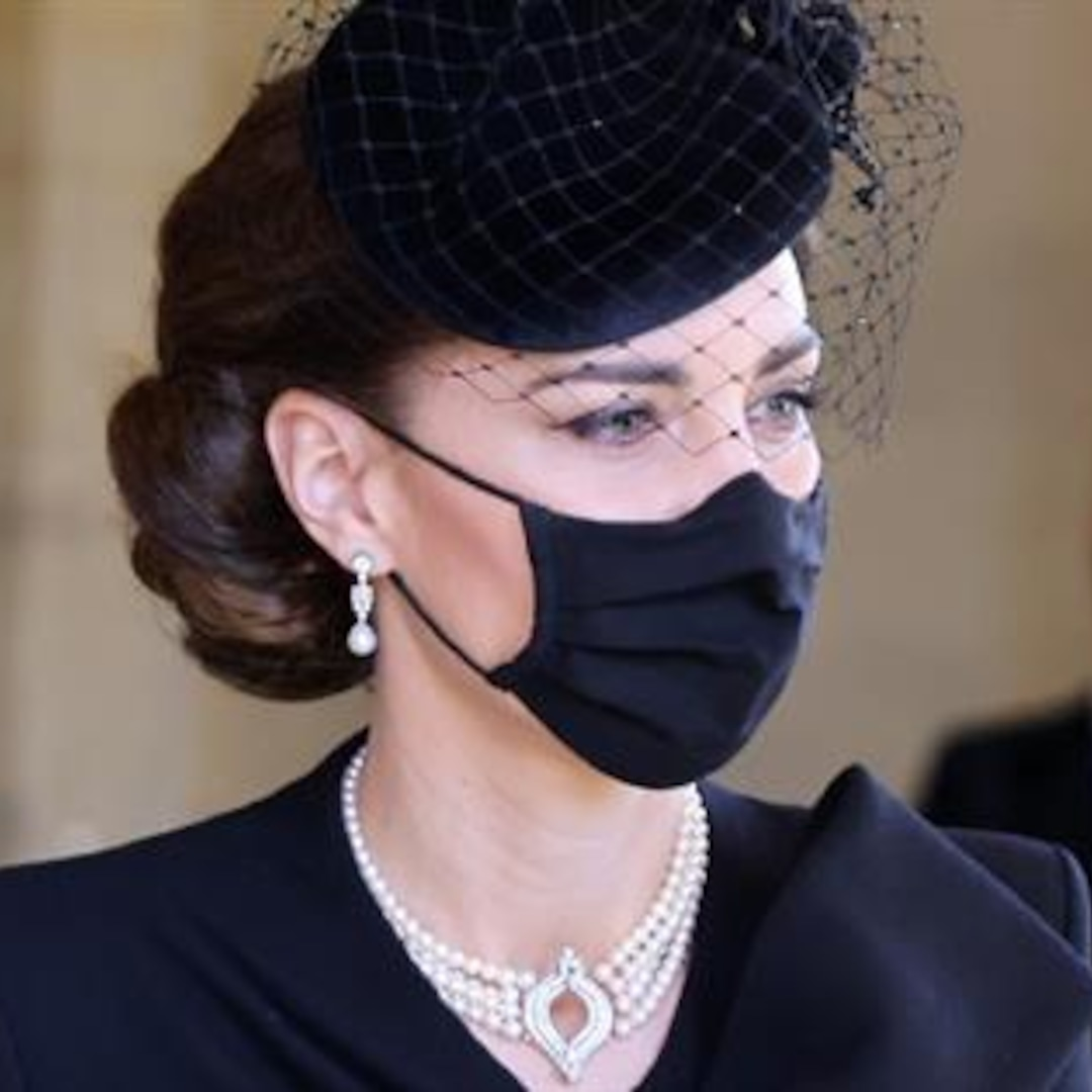 Kate Middleton's Jewelry Pays Tribute to Queen Elizabeth II