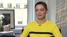 Rose McGowan Talks Golden Globes PR Stunt Comment